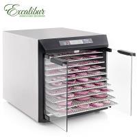 【送食物處理機】Excalibur伊卡莉柏低溫乾果機十層/數位式/不鏽鋼EXC10EL