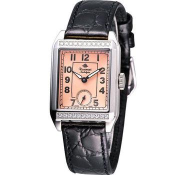 玫瑰錶 Rosemont 戀舊系列時尚腕錶 TN002J-SP-BBK