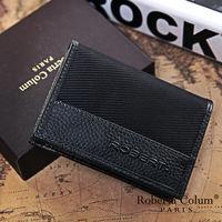 Roberta Colum - 雅痞時尚系牛皮款隨身名片夾-共2色