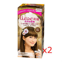 莉婕泡沫染髮劑 魅力彩染系列 栗子棕色(2入)