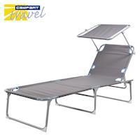《Campart Travel墾旅》休閒遮陽躺椅BE-0626