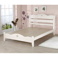 BuyJM 洛克實木雙人床(5*6.2呎)