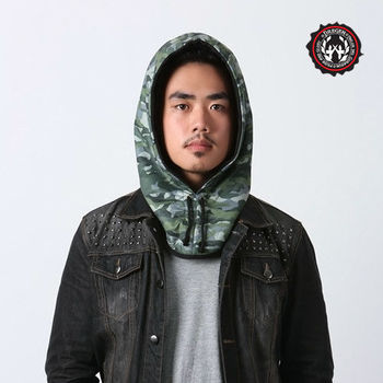 【DREGEN】OF系列-時尚頭套帽-迷彩戰役