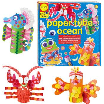 【美國ALEX】DIY紙筒動物-海洋