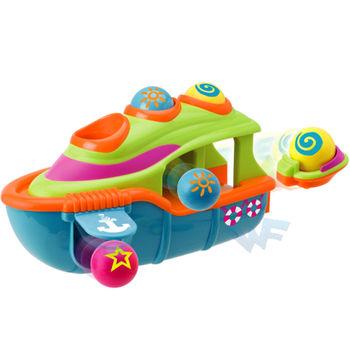 【美國ALEX】嬰幼兒肢體動作-敲敲小遊輪