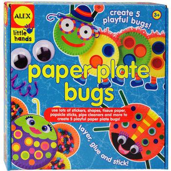 【美國ALEX】幼兒剪貼系列-DIY蟲蟲世界