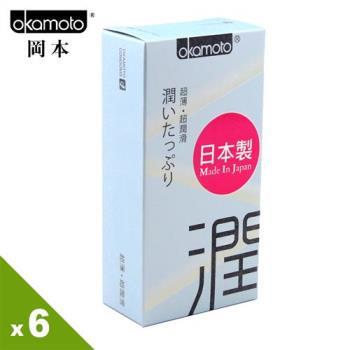 【保險套世界精選】岡本.City - Ultra Smooth 極潤型保險套(10入X6盒)