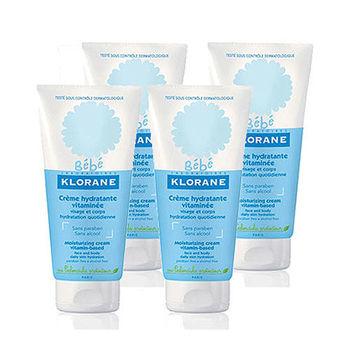 KLORANE蔻蘿蘭 寶寶保濕滋養霜4入特惠組(加贈蔻蘿蘭寶寶試用品*3)
