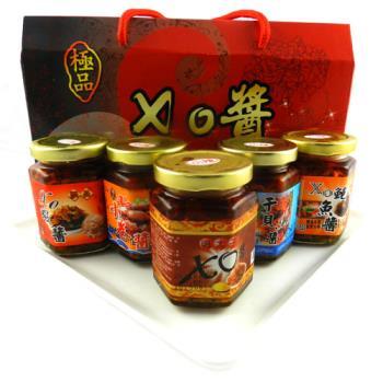 【饗讚】海味大集合極鮮XO醬禮盒3盒組(3罐/盒.共9罐)