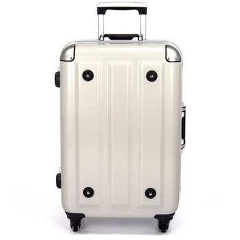 MOM 日本品牌 - 18吋-第二代旗艦正式版 PC鋁框行李箱(RU-3008-18-白)