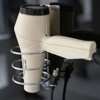 《舒適屋》髮絲紋無痕貼-衛浴吹風機架