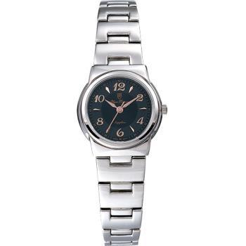 Olym Pianus 奧柏表 粉彩系列簡約腕錶-黑/23mm 5686LS