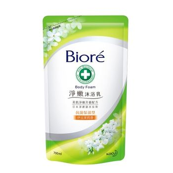 Biore蜜妮 淨嫩沐浴乳 抗菌保濕型 伊豆茉莉香 補充包700ml