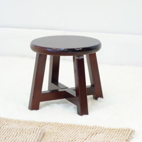 【傢俱屋】復古圓矮凳-胡