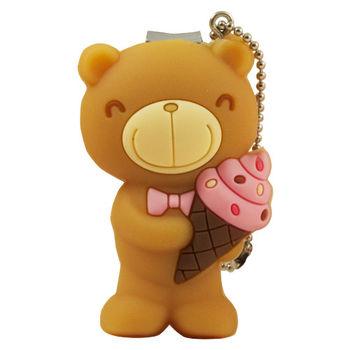 巧克力熊 甜筒隨身指甲刀