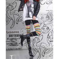【JHJ DESIGN】鴨子星人的逆襲 九分褲襪/內搭褲(加拿大品牌 MIT)-行動