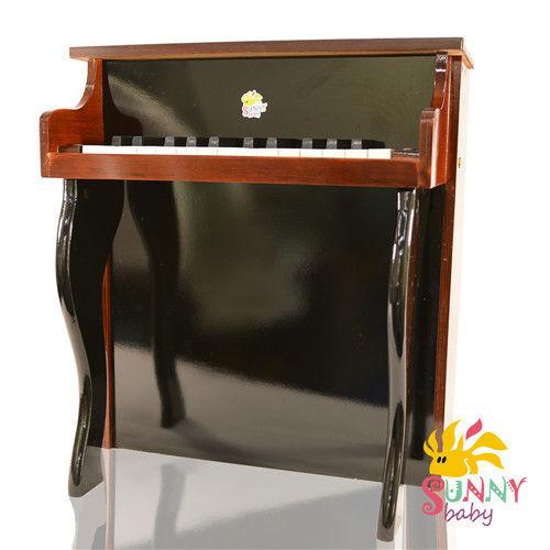 【Sunnybaby】兒童玩具豎型鋼琴(25鍵)-原木色