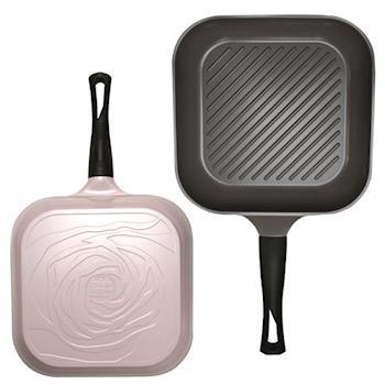 【Chef Topf】薔薇系列28公分不沾煎鍋