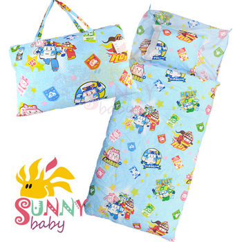 【Sunnybaby生活館】- 卡通造型幼教兒童睡袋-波力