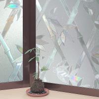 日本MEIWA節能抗UV靜電窗貼 (竹籬意象) 92x100公分