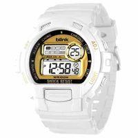 JAGA 捷卡  M886-DL blink 陽光炫麗多功能運動電子錶-白金