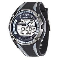 JAGA 捷卡 M980-AC 超級戰將多功能電子錶(黑灰)