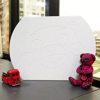 MOISS 熊本熊造型 足乾浴室腳踏地墊