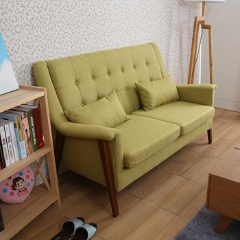 【諾雅度】Ronnie英式羅妮高背雙人沙發(2色)