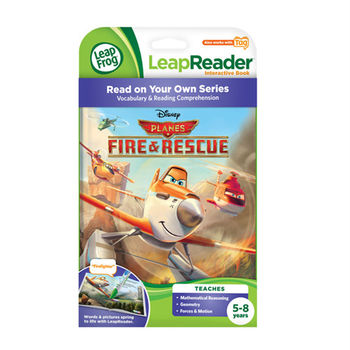 《LeapFrog 跳跳蛙》美國跳跳蛙LeapFrog-全英電子閱讀筆書籍-飛機總動員 2