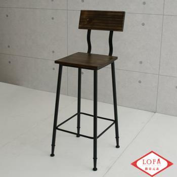 【微量元素】手感工業風美式餐椅/吧台椅