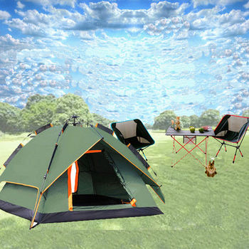 WASHAMl就是愛露營3-4人自動帳篷LZ01-014
