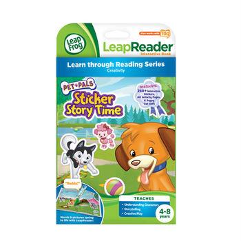 《LeapFrog 跳跳蛙》美國跳跳蛙LeapFrog-全英電子閱讀筆書籍-可愛動物貼紙故事書