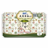蘇菲天然草本衛生棉29cm(18片×4包)