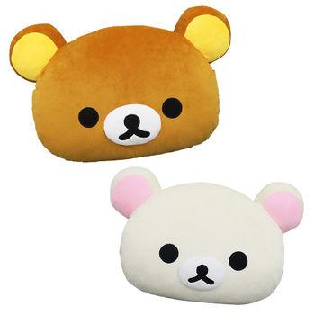 【享夢城堡】Rilakkuma拉拉熊 18吋 暖手枕 (拉拉熊)(牛奶熊)