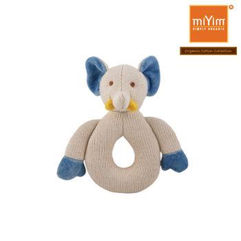miYim有機棉-咬咬牙/固齒器-大象