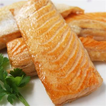 [賣魚的家] 智利鮭魚肚條(250g/包,共三包)