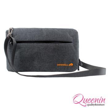 DF Queenin日韓 - 韓版多卡收納旅行側背包
