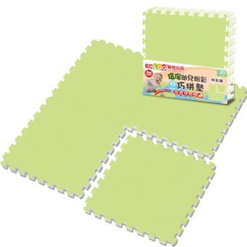 LOG樂格 環保PE棉粉彩巧拼墊 -顏色任選 (60X60cmX厚2cmX4片) 拼接墊/爬行墊