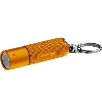 德國LED LENSER K2鎖匙圈型手電筒-橘色