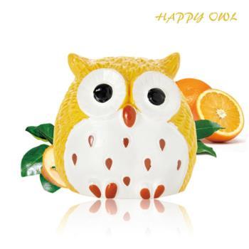 【Happy owl】快樂貓頭鷹護唇膏-熱情蜜橘1.5G