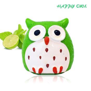 【Happy owl】快樂貓頭鷹護唇膏-初戀檸檬1.5G
