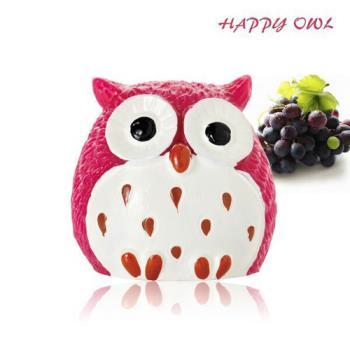 【Happy owl】快樂貓頭鷹護唇膏-紫愛葡萄1.5G