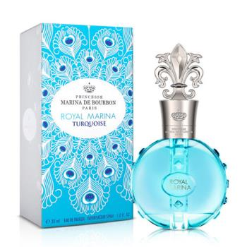 Marina de bourbon 皇家璀璨藍寶石淡香精(30ml)+品牌小香