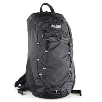 犀牛RHINO Lite Pack 15公升輕便登山背包-黑