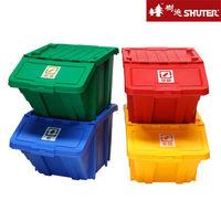 【樹德SHUTER】家用可疊式資源回收箱 (4色組)