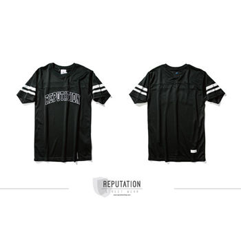 Reputation American Shirts TEE - 美式球衣素材TEE -  黑-行動
