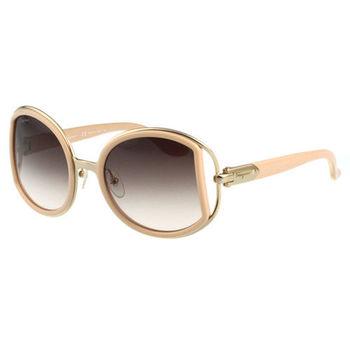 Salvatore Ferragamo- 時尚 太陽眼鏡(膚色)