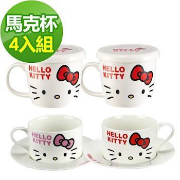 Hello Kitty 歡樂派對4入杯組-D03