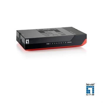 【LevelOne】超高速乙太網路交換器(GSW-0807)