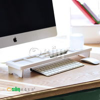 【Osun】木塑板置物架白色經典款鍵盤架(CE-178-鍵盤架)